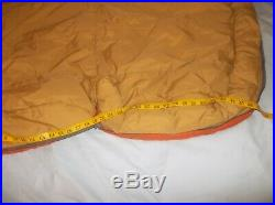 ONE The North Face Rectangular USA Made Camping Backpacking Sleeping Bag Quilt
