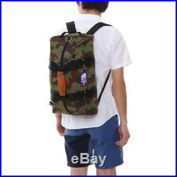 RARE COLOR North Face Purple Label 3way Duffle Bag Backpack