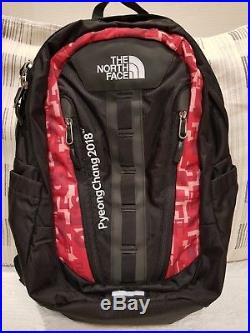 RARE Pyeongchang 2018 Olympics North Face Volunteers Backpack with Beanie