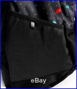 RARE The North Face TNF School Backpack Black Space Climbfetti Print Collab