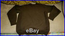 SUPREME BROWN BOX BROWN SWEATER CREWNECK L backpack hoody north face mountain