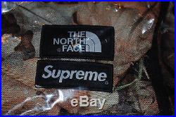 SUPREME The North Face Pocono Backpack Leaves Receipts! Box Logo New Authentic