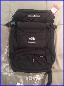 SUPREME x NORTH FACE STEEP TECH BACKPACK BLACK