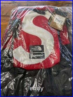 SUPREME x THE NORTH FACE S LOGO EXPEDITION BACKPACK RED