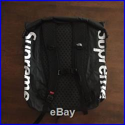 0a7ccffe5 SUPREME x THE NORTH FACE WATERPROOF BACKPACK SS17 BRAND NEW BLACK ...