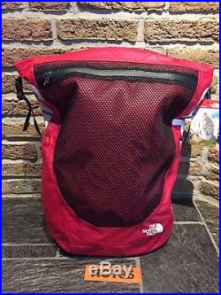 06bff583e SUPREME x THE NORTH FACE Waterproof Backpack Red SS17 TNF 100 ...