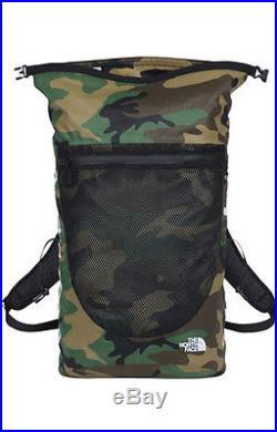 Supreme NYC The North Face Backpack Waterproof Camouflage SS/17 Woodland Green