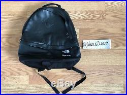 Supreme New York Tnf The North Face Leather Back Pack Black Great Condition