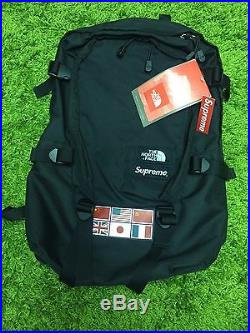 a5a222a8e6c4 Supreme S/S 2014 Expedition Backpack TNF Black CHF1JK3-OS The North ...