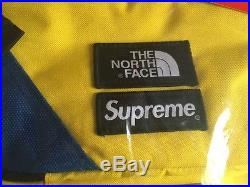 Supreme SS16 The North Face Steep Tech Backpack Black Royal Red Hooded Jacket