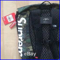 ab58df74 Supreme Ss17 X The North Face Tnf Waterproof Backpack Woodland Camo Box Logo
