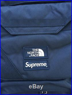 Supreme The North Face Backpack Steep Tech Back Pack Black White S/S 2016 16 NWT