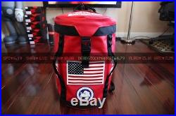 Supreme The North Face Big Haul Backpack Red Tnf Box Logo Comme Des Garcons Ss17