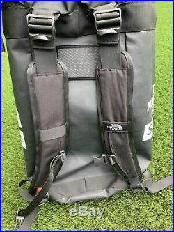 Supreme / The North Face Big Haul Water Proof Black Backpack Drawstring Insides