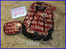 Supreme The North Face By Any Means Necessary Backpack & Base Camp COMBO boxlogo