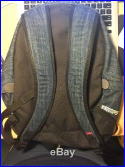Supreme The North Face Denim backpack Day Pack Gore Windstopper SS 2015 TNF