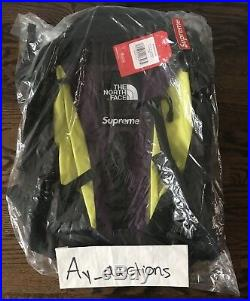 Supreme The North Face Expedition Backpack FW18 Sulphur new 100% authentic