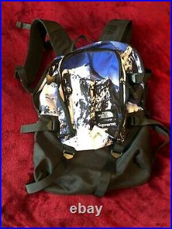 Supreme The North Face Mountain Expedition Backpack Blue/White