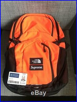 Supreme The North Face Pocono Backpack Power Orange