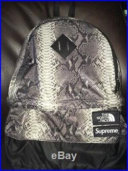 Supreme The North Face Snakeskin Lightweight Backpack Black