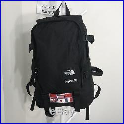 345719d1ab7 Supreme The North Face tnf flag Expedition Backpack FW14 black box logo
