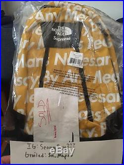 Supreme X The North Face BAMN Back Pack
