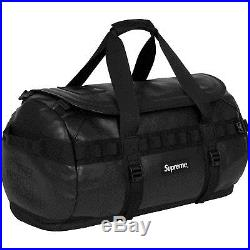 Supreme X The North Face Leather Base Camp Duffel Black Brand New