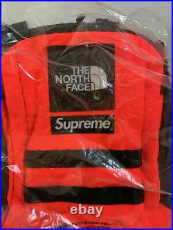 Supreme X The North Face Rtg Backpack Rocket Red Sold Out
