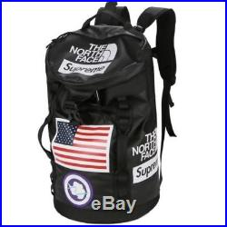 Supreme x North Face Trans Antarctica Expedition Big Haul Backpack Black 18SS