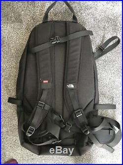 Supreme x The North Face Expedition Bag Black Back Pack + Receipt