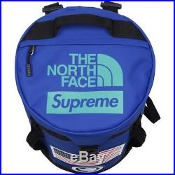 Supreme x The North Face Expedition Big Haul Backpack Royal Bookbag SS17 TNF