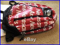 Supreme x The North Face FW15 Base Camp Crimp Backpack Bag By Any Means TNF 2015