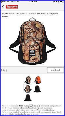 287e6a72c Supreme x The North Face Pocono Backpack | North Face Backpack