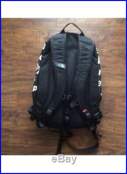 Supreme x The North Face TNF BAMN By Any Means Necessary Backpack Black Box Logo