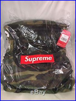 d7c2999c Supreme x The North Face Waterproof Backpack Woodland Camo SS17 NEW IN HAND