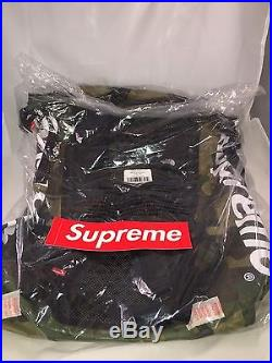 Supreme x The North Face Waterproof Backpack Woodland Camo SS17 NEW IN HAND