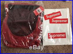 Supreme x The North Face Week 15 Waterproof Backpack- (RED)