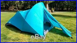 THE NORTH FACE 1990's Bullfrog 3 Season Backpacking Camping Tent With Rainfly