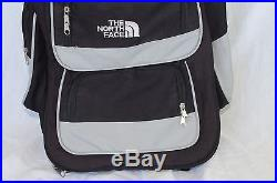 The North Face Backpack / Rolling Travel Bag Black Interior