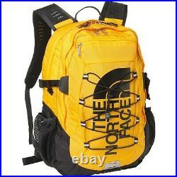 THE NORTH FACE Borealis Classic TNF Logo Rare Backpack Summit Gold/TNF Black NEW
