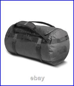 THE NORTH FACE Duffel Bag Small Dark Grey Heather / Asphalt Grey- NWT