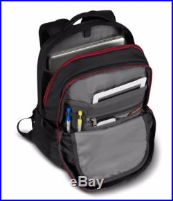 7766a4c4ff43 THE NORTH FACE Men s Borealis Backpack TNF Black Heather Biking Red One Size
