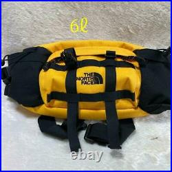 THE NORTH FACE NM71864 Lumbar Fanny Pack Mountain Biker Yellow Used