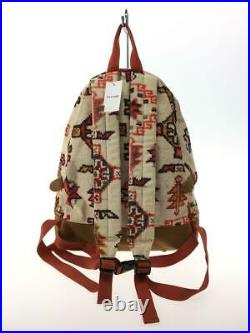 THE NORTH FACE PURPLE LABEL Backpack Bag Ivory Cotton NN7153N Used From Japan