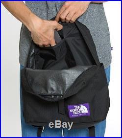THE NORTH FACE PURPLE LABEL Book Rac Pack M BLACK Backpack NN7703N Japan F/S