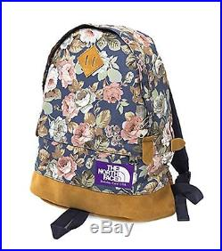 THE NORTH FACE PURPLE LABEL Flower Print Medium Day Pack F/S JAPAN NEW 036