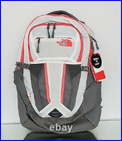 THE NORTH FACE RECON WOMEN'S BACKPACK TNF White-Calypso Coral