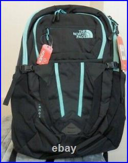THE NORTH FACE RECON WOMEN'S BACKPACK ZINC Black / Mint Blue