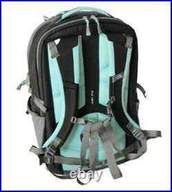 THE NORTH FACE SURGE WOMEN'S BACKPACK Zinc Grey Heather/Surf Green