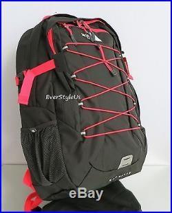 THE NORTH FACE Womens Borealis Backpack Rocket Red/Asphalt Grey